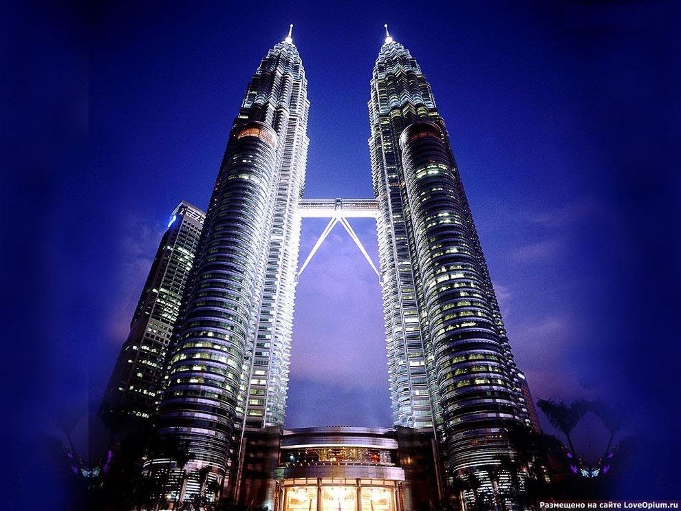 Символ Куала-Лумпур — Башни-близнецы Петронас