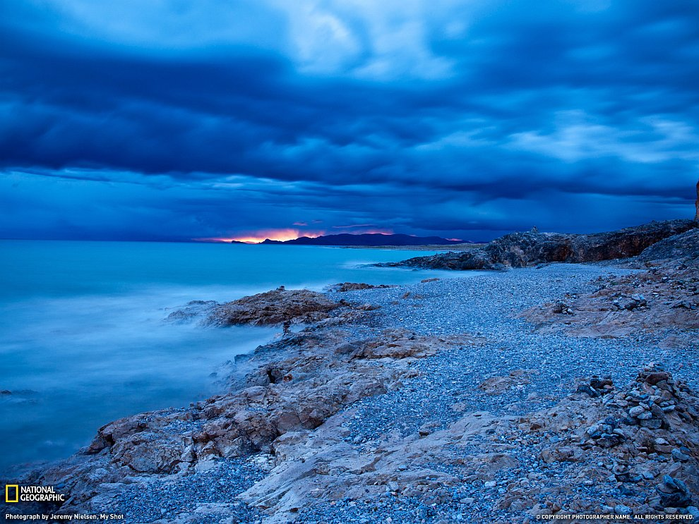 Озеро Namsto, Тибет