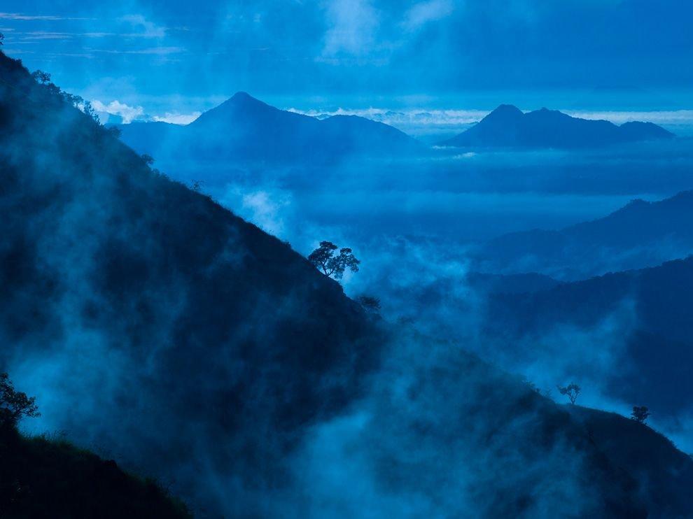 Утренний туман, Шри-Ланка