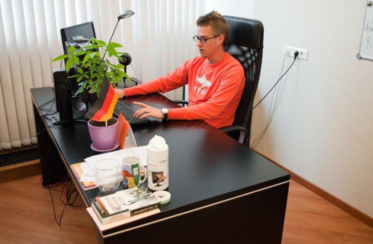 Офис компании ВКонтакте
