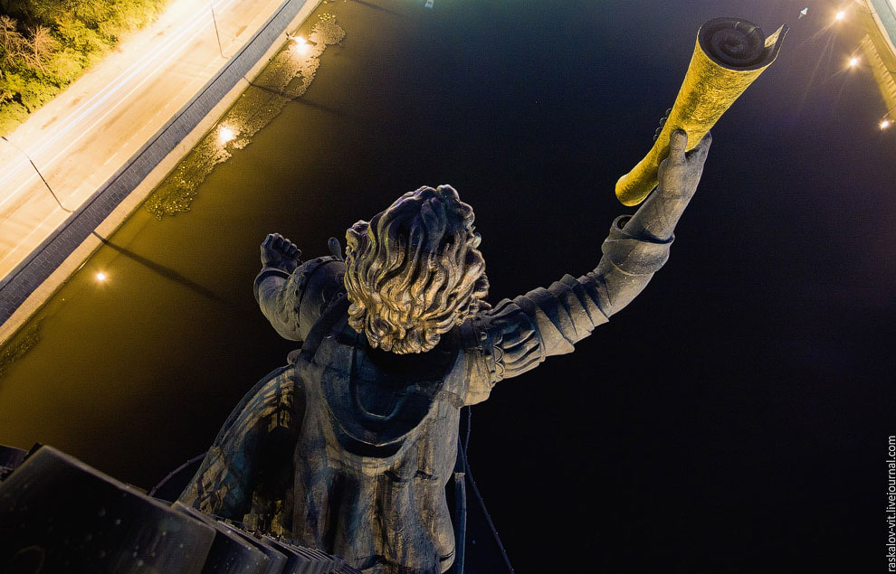 Памятник Петру I: вид с высоты