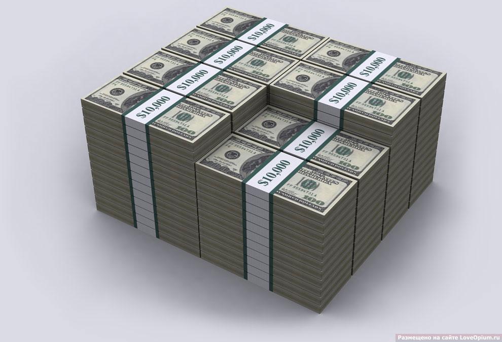 Наглядная визуализация долгов Соединенных Штатов