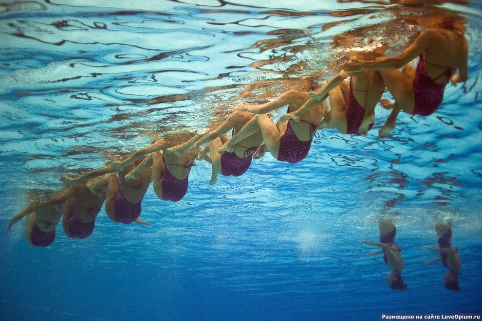 Синхронное плавание: водный балет