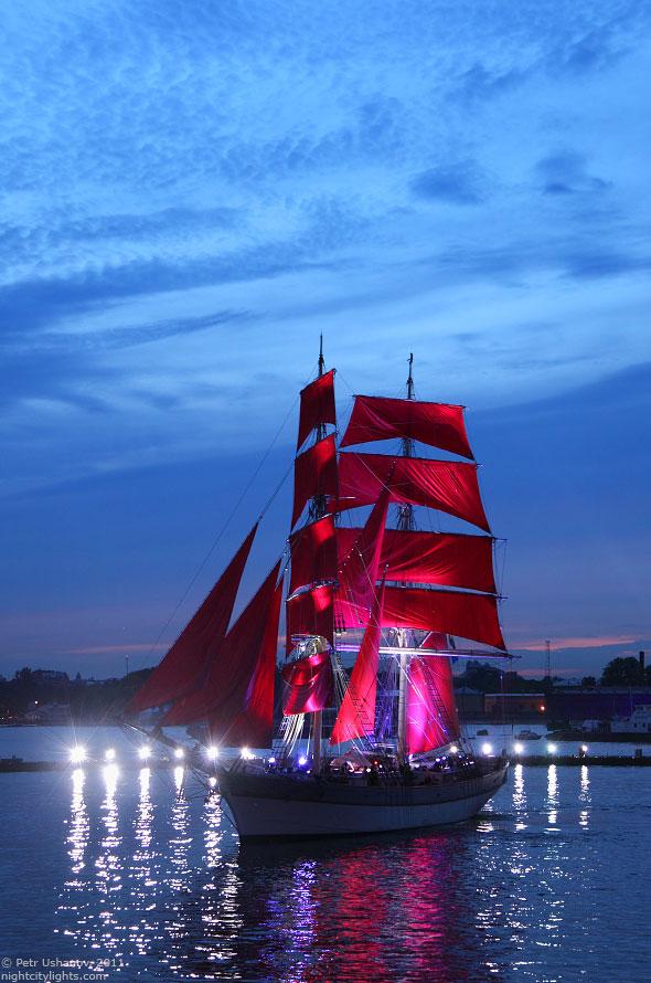 «Алые паруса» 2011 в Санкт-Петербурге