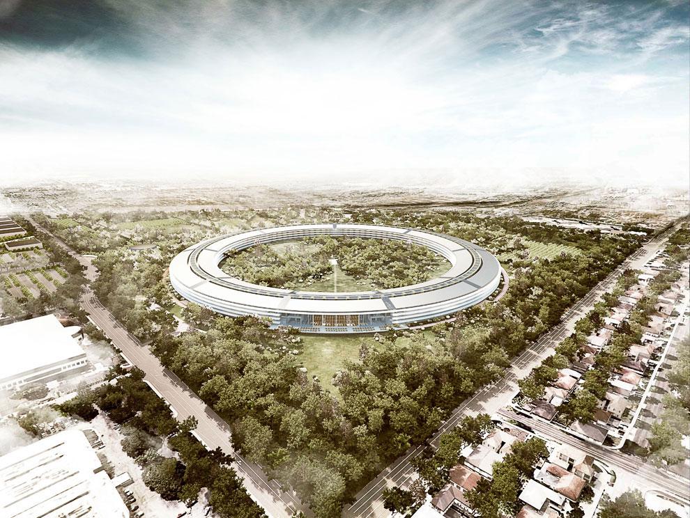 Летающая тарелка или офис самой дорогой компании в мире