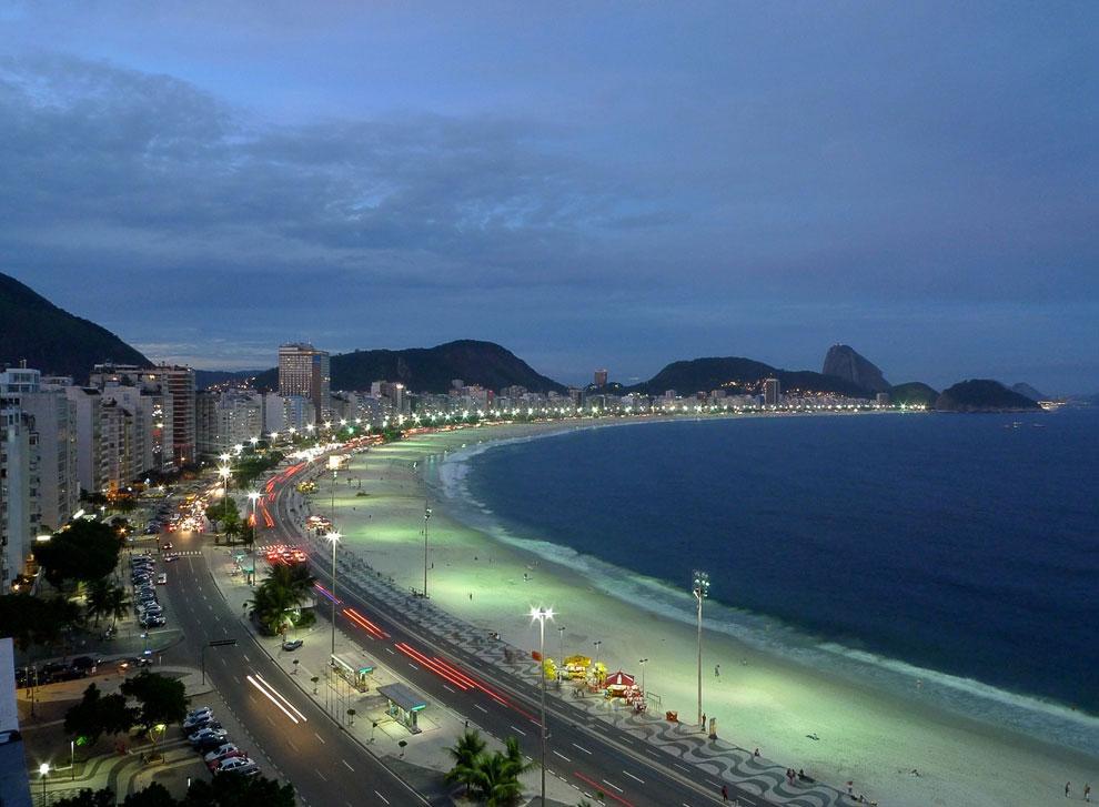 Пляж Copacabana (Бразилия)