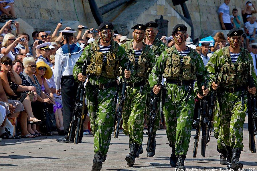 Празднование Дня военно-морского флота в Севастополе