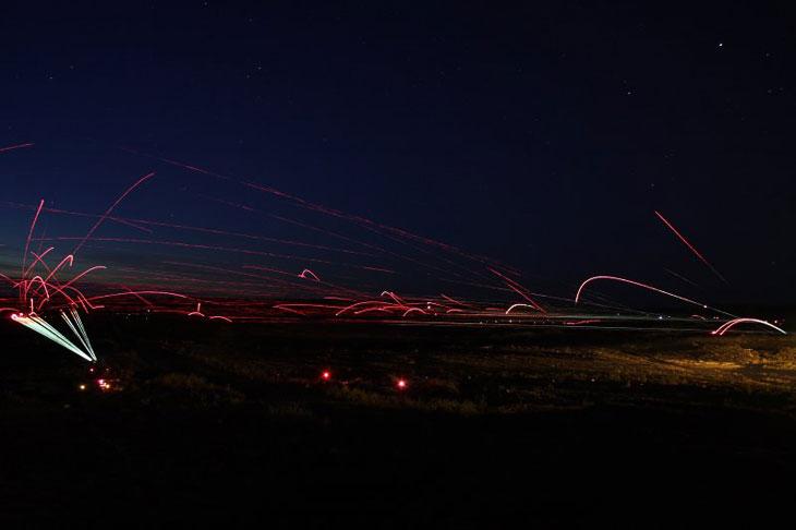 «Звездные войны»: необычные фотографии ночного боя