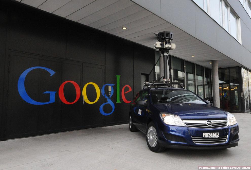 Как работает Google Street View — просмотр панорам улиц городов мира