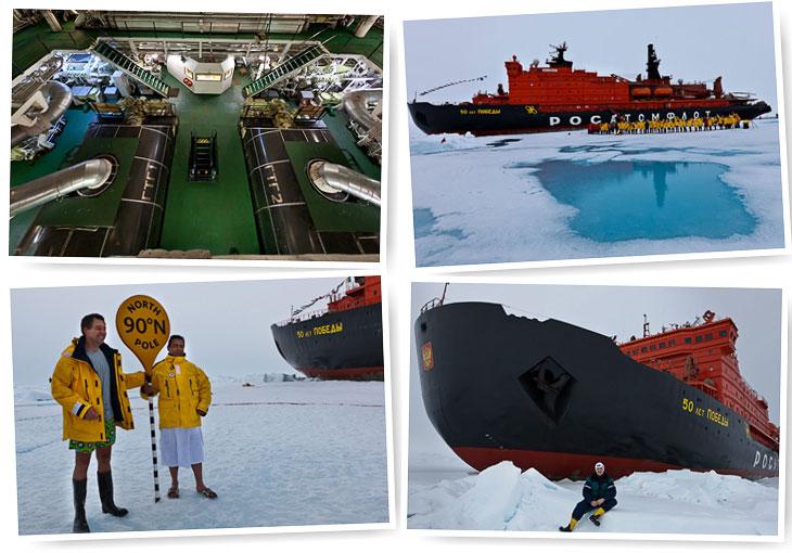 Путешествие на Северный полюс. Часть 4