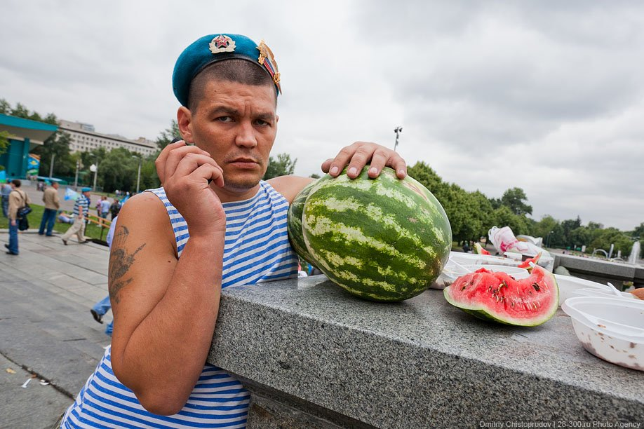 День ВДВ и арбузы
