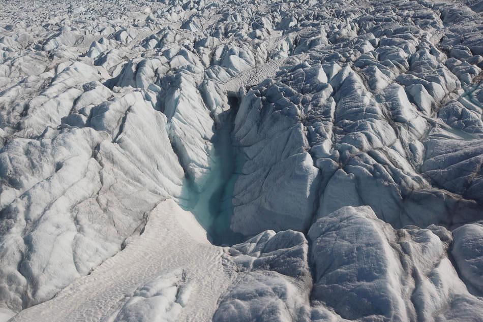 Ледники в Гренландии