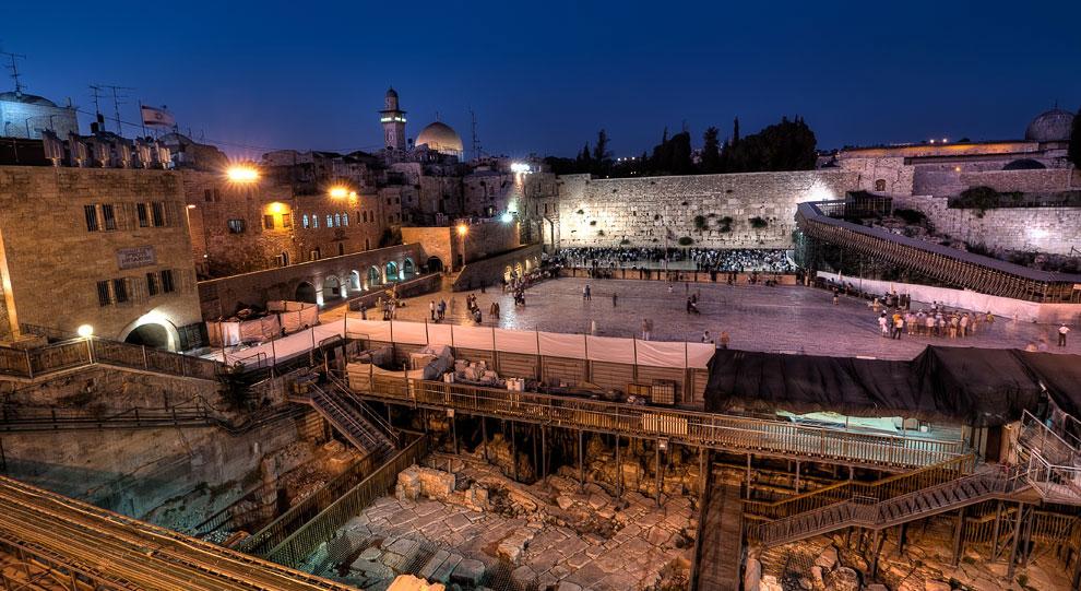 Площадь у Стены Плача в Иерусалиме