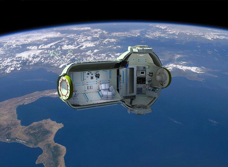 В 2016 году появится первый космически отель