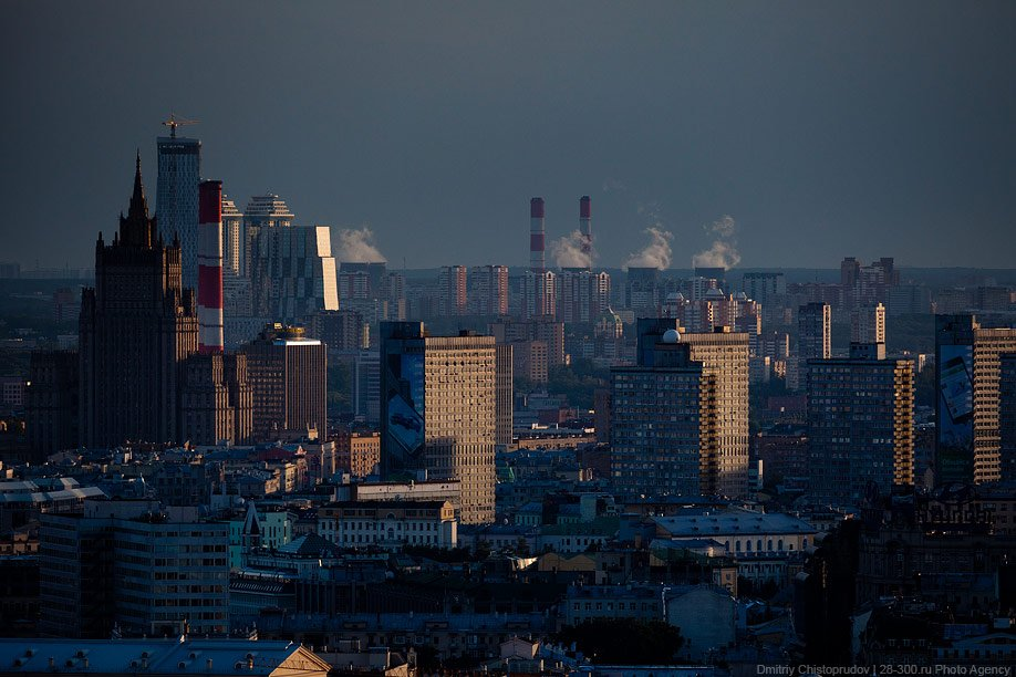 Высотные виды Москвы