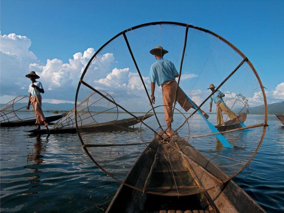 Рыбаки, Мьянма
