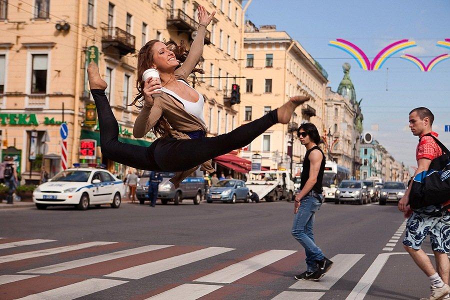 Пересечение танца и архитектуры