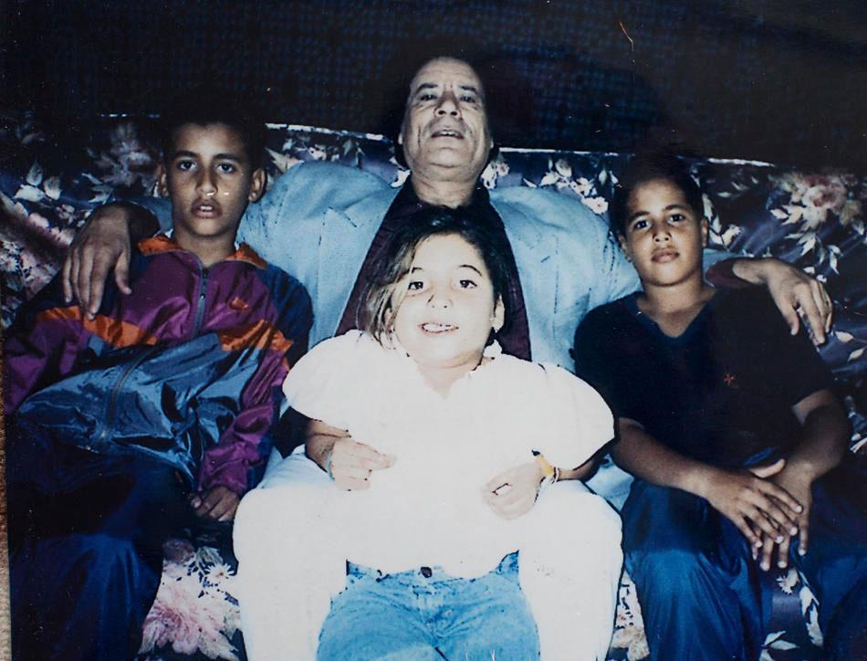 Полковник Муаммар Каддафи
