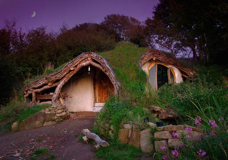 Домик хоббитов из Уэльса