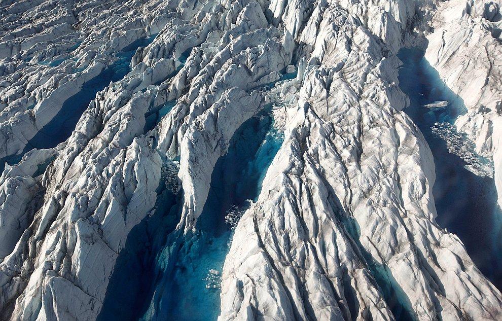 Ледники в Гренландии. Часть 2