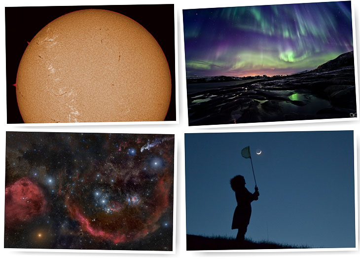 Лучшие фотографии в области астрономии 2011