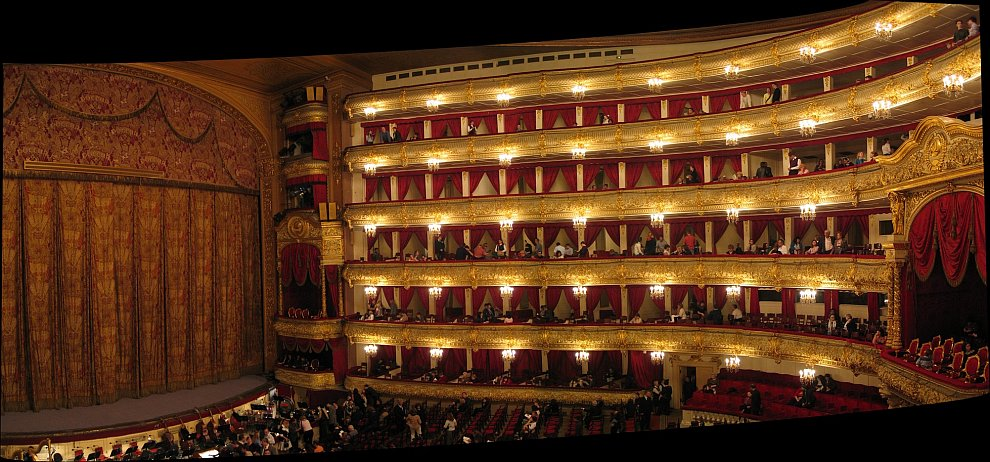 Большой театр: «золотой» занавес