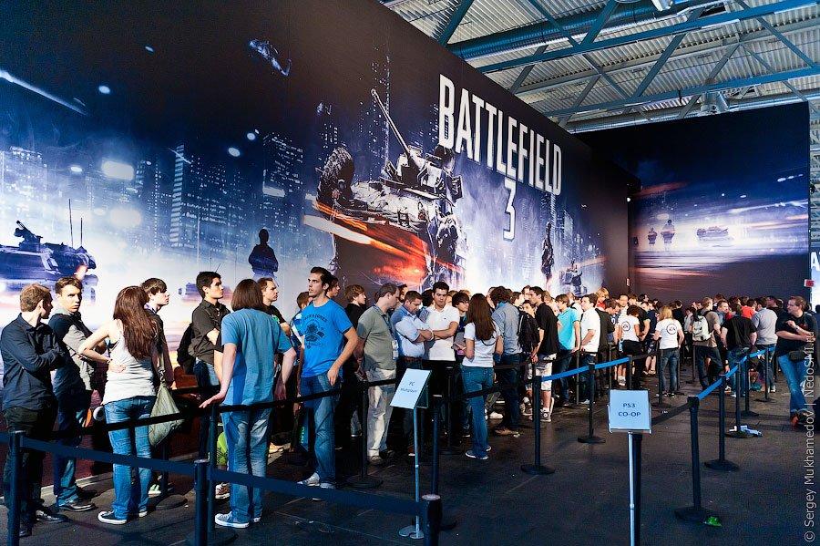 Gamescom 2011 — крупнейшая в Европе выставка компьютерных игр