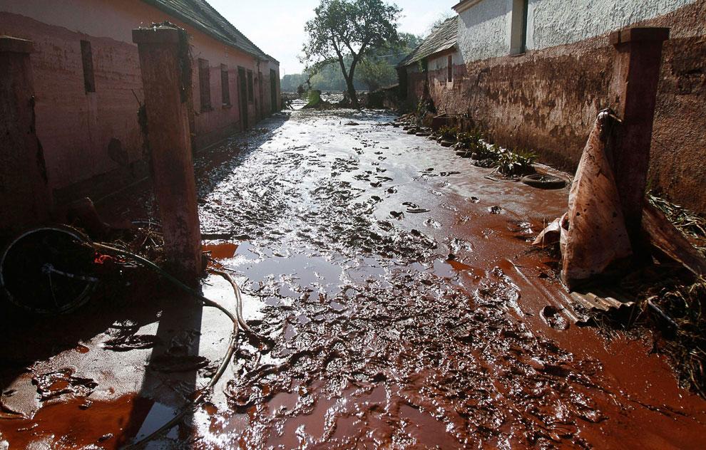 Токсичные отходы и красный шлам в Венгрии
