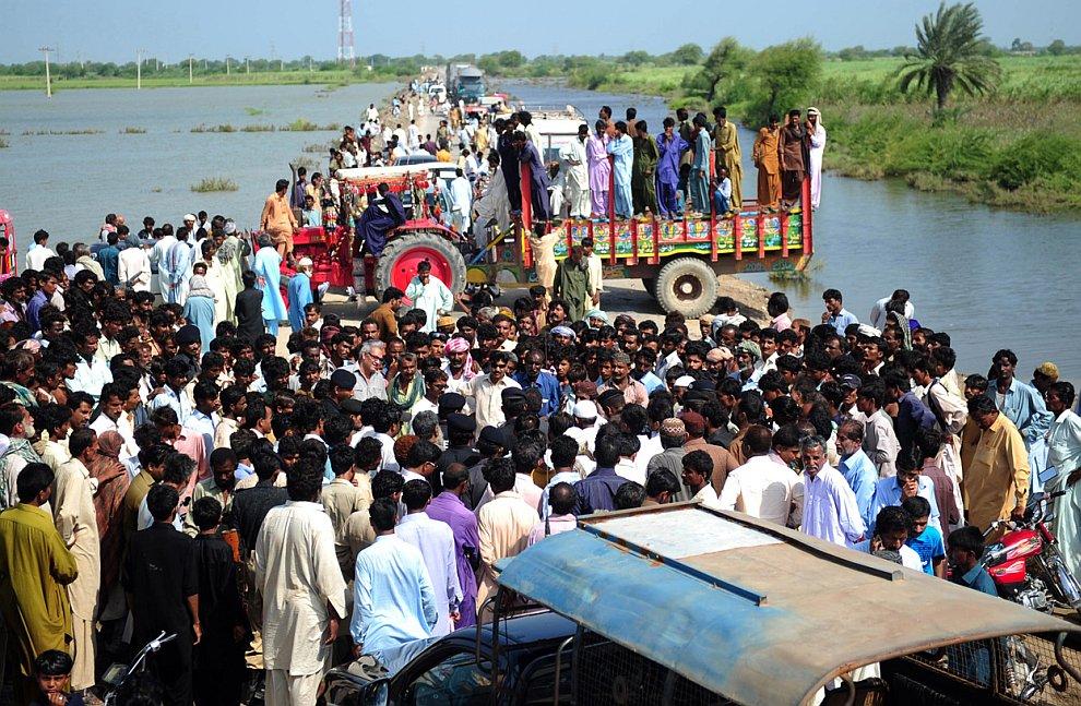 Крупнейшее наводнение в Пакистане
