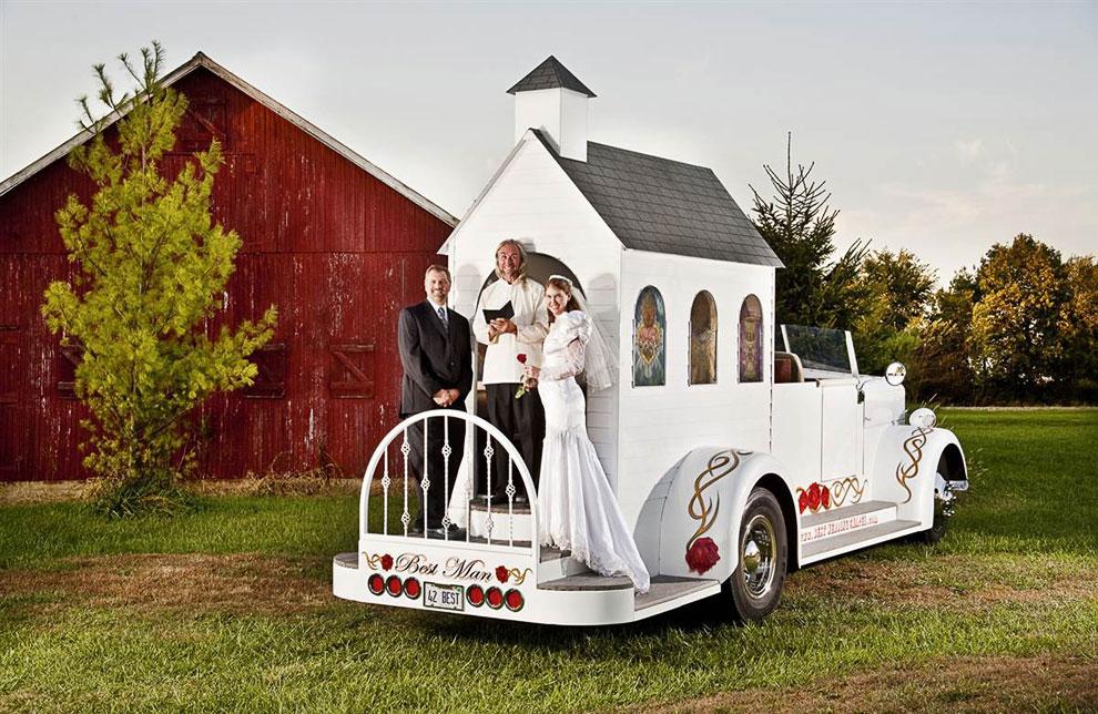 Самая быстрая часовня для свадебных церемоний
