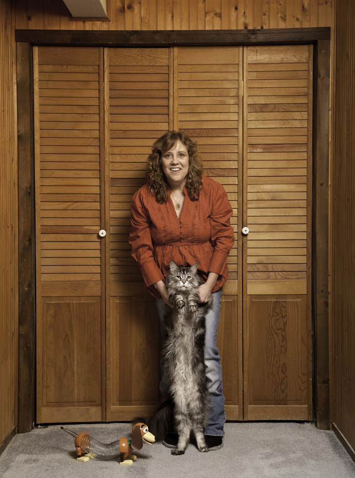 Самый длинный домашний кот