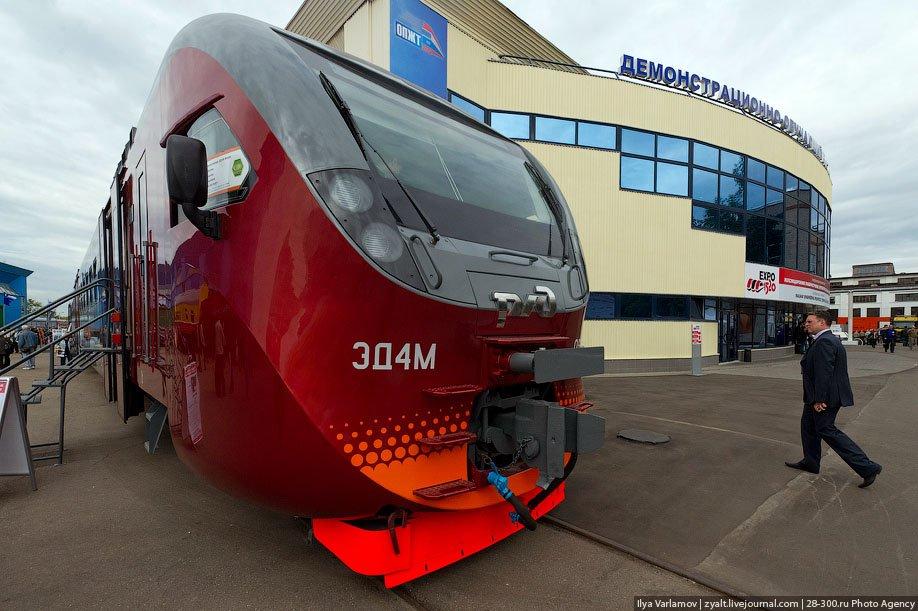 Отечественный электропоезд Эд-4М