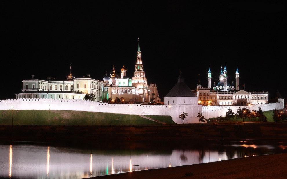 Города России: Казани с высоты птичьего полета