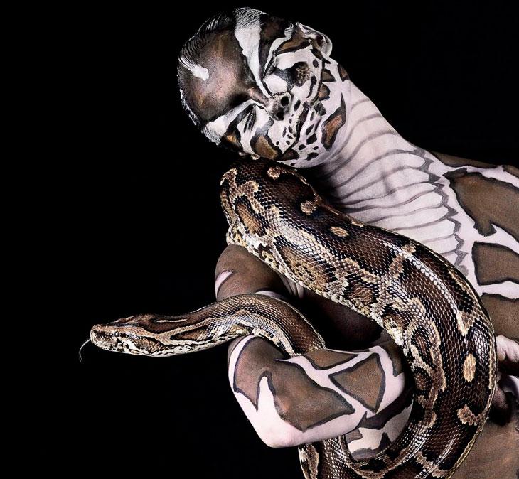 Животные инстинкты: уникальные фотографии моделей в зверином обличии