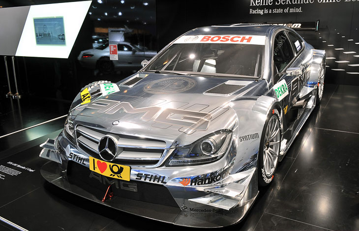 Гоночное купе Mercedes-Benz C-Class DTM AMG