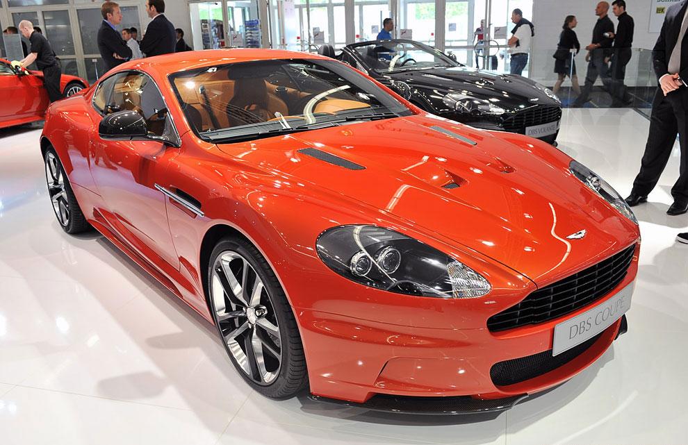 Aston Martin DBS Carbon 2012