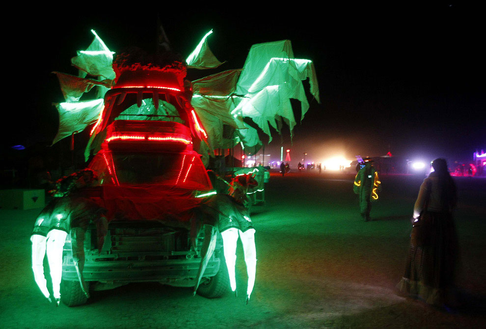 Фестиваль «Горящий человек — 2011»
