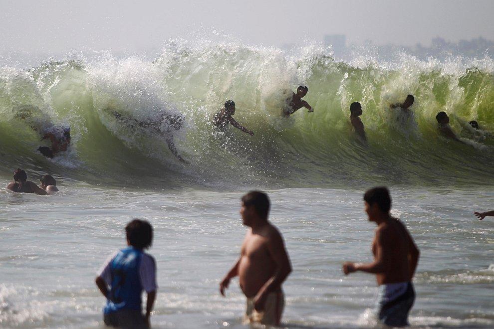 Пляж Агуа-Дульсе — самый популярный пляж