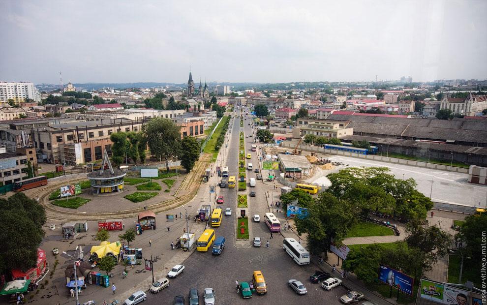 Прогулка городу Львов