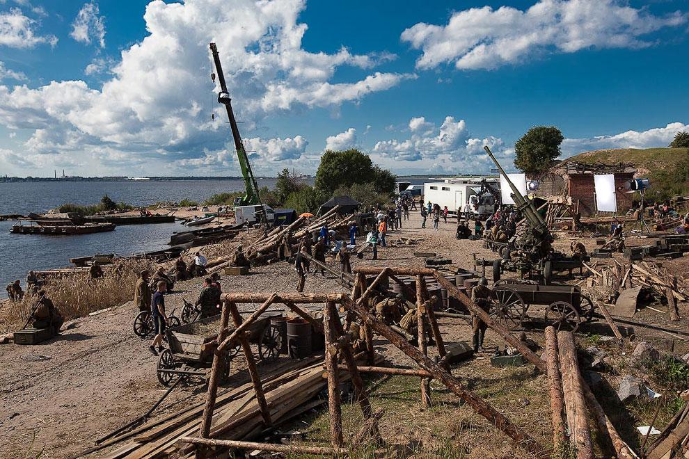На съемках нового фильма Федора Бондарчука «Сталинград»