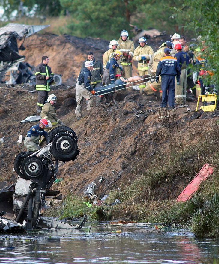 Авиакатастрофа: разбился Як-42 с командой «Локомотив»
