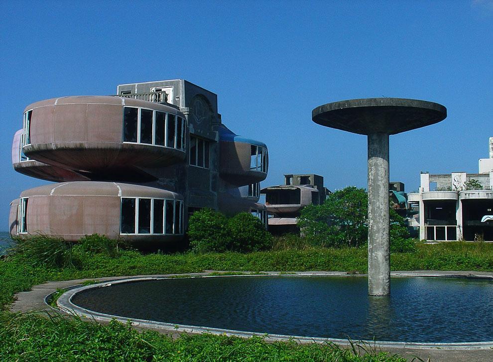 Город-призрак НЛО на Тайване