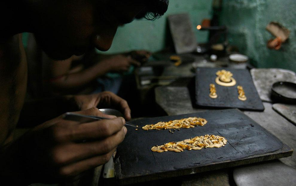 Производство золотых украшений