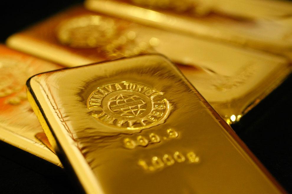 Изготовление золотых слитков