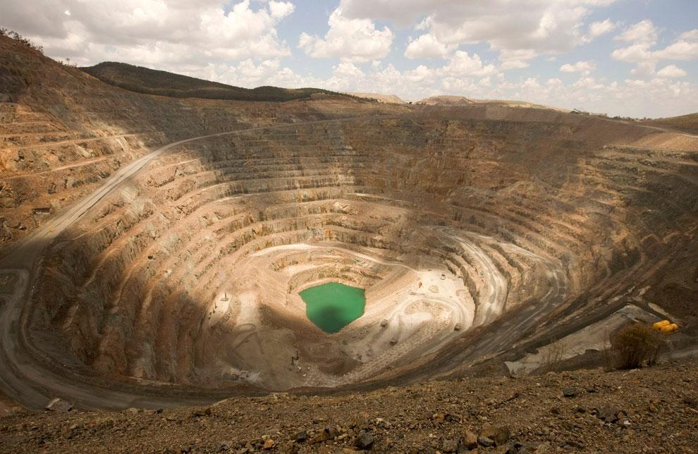 Крупнейшее месторождение золота