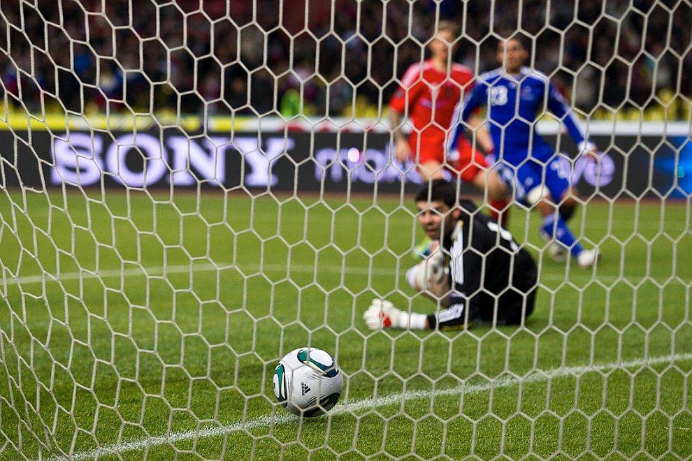 Сборная России по футболу поедет на Евро-2012