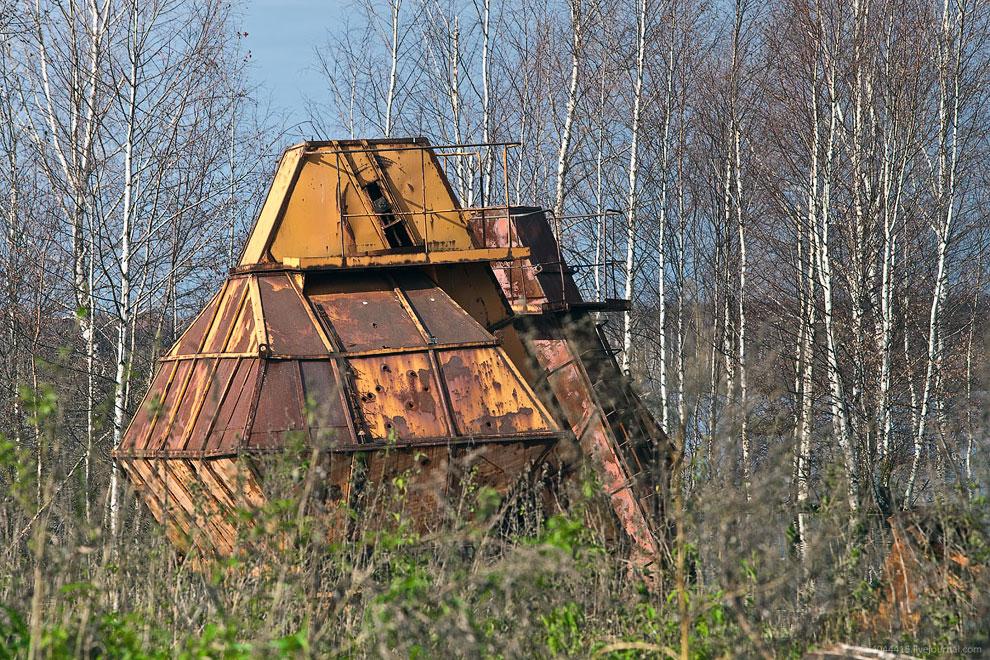 Постапокалипсис: кладбище техники на торфяниках