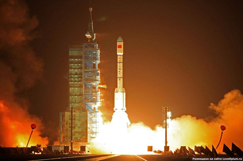 Корабль «Тяньгун-1» или «Небесный дворец»