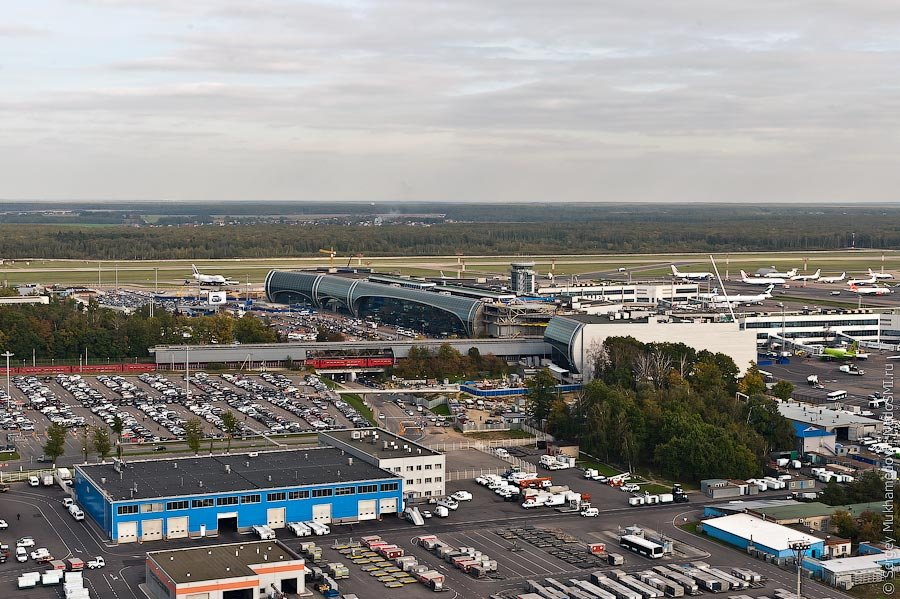 Аэропорт Домодедово в 2020
