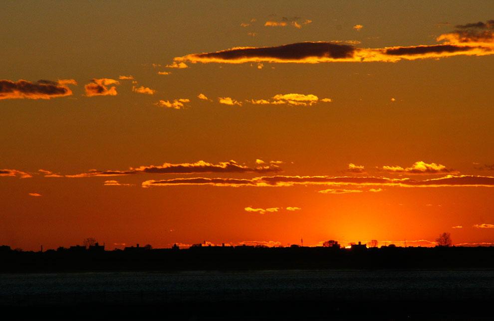 Закат солнца в фотографиях